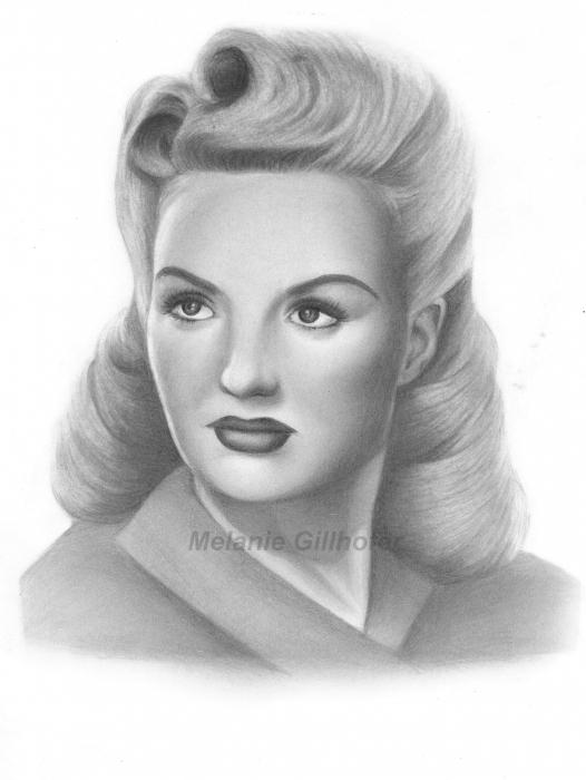 Betty Grable par MelanieG